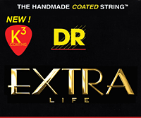 Gear Watch: New DR Strings K3 Coated Technology