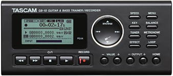 Gear Watch: Tascam GB-10 Trainer/Recorder