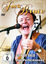 """Jack Bruce Releases """"City Of Gold: Live Performances"""" DVD"""