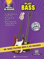 """Alfred Releases """"No Brainer: Play Bass"""" Instructional Book"""