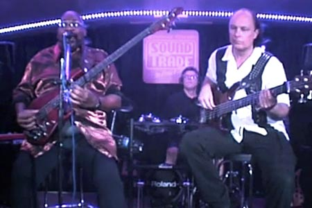 Paul Jackson with the Strandberg Project: The Groove