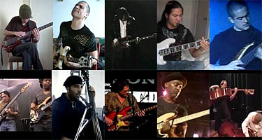 Top 10 Cover Tunes Arranged for Bass