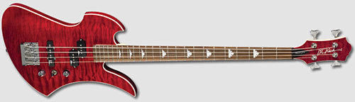 B.C. Rich: Mockingbird Masterpiece Bass