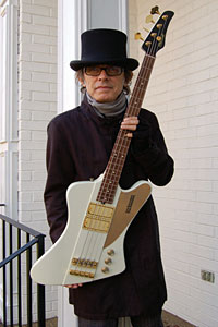 Mike Lull Unveils Tom Petersson Signature Bass