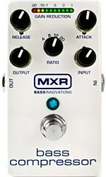Dunlop Announces MXR M87 Bass Compressor Pedal