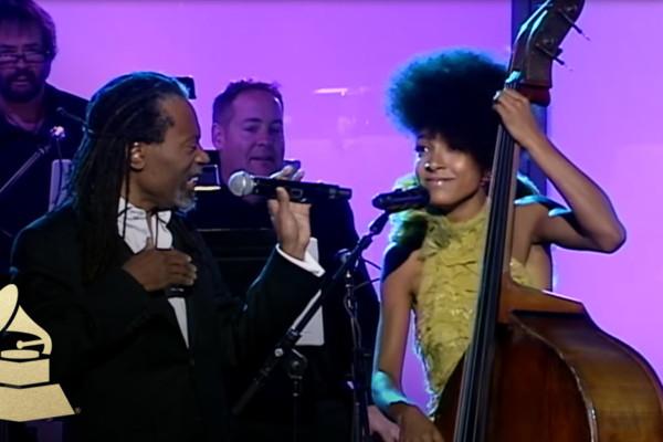 Esperanza Spalding and Bobby McFerrin Duet at Grammys