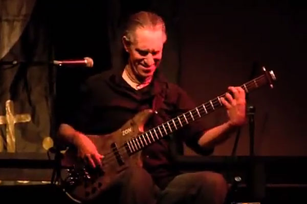 """Michael Manring: """"Born to Be Wild"""" Solo Bass Performance"""