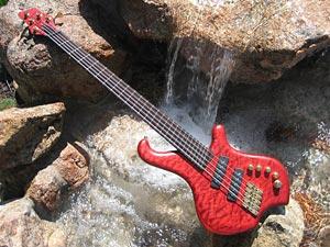 JC Basses - Seth Horan's bass