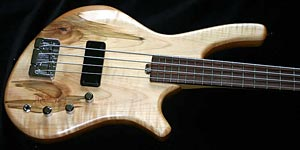 AC Guitars Graft Series Handmade Bass Recurve