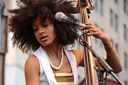 Esperanza Spalding To Perform with Prince's Welcome to America Tour