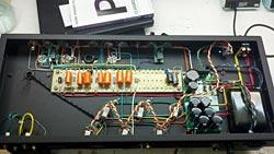 Verellen Amplifiers inside