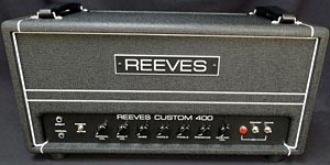 Reeves Amplification Releases Custom 400 Tube Amp
