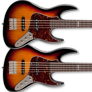 ESP Unveils LTD J-Series Basses at Summer NAMM 2011