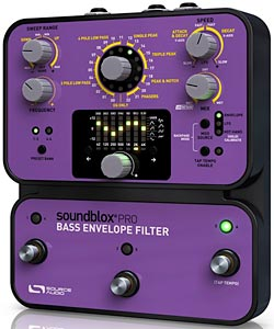 Source Audio Introduces the Soundblox Pro Bass Envelope Filter