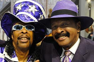 Bootsy Collins and Larry Graham