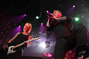 Duff McKagan and Corey Taylor