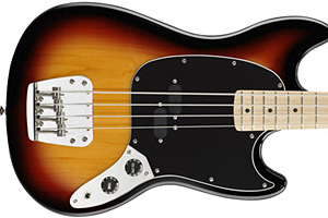 Squier Releases Vintage Modified Mustang Bass