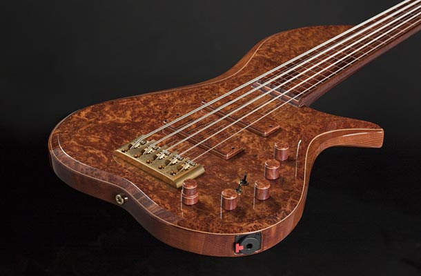 BL Designs Barbary Fretless 5-String