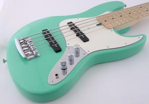 M Basses Sea-foam Mj5