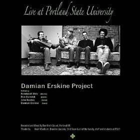 "Damian Erskine Releases ""Live at Portland State University"""
