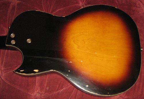 Kay K5915 Electric Bass Body - back