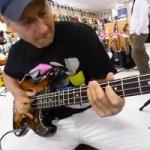 Juraj Griglak: Bass Jam in Japanese Guitar Shop