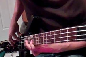 """Bass Play-Along Week: Alex Myers' RHCP """"Around The World Bass"""" Bass Play-Along"""