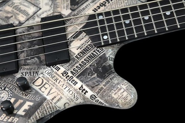 Bass of the Week: Mayones Elegance 5 Paper