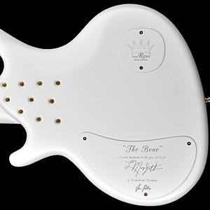 Jens Ritter LaMarquis Jefferson Signature Bass: The Bone (backplate)