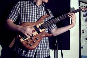 Bass Video Round Up: Ripping Rock Bass, Some Funky Funk Bass, Bass-Style Halloween and A Big Sounding Little Bass