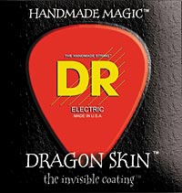 DR Strings Introduces New Dragon-Skin Strings
