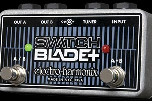 Electro-Harmonix Now Shipping Switchblade+ Channel Selector