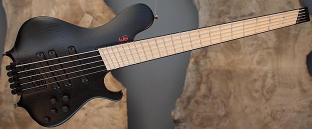 Le Fay Fan Fret Pangton Headless Bass