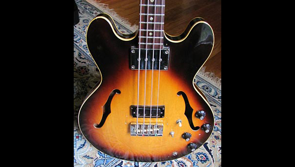 Old School: 1968 Gibson EB-2D Bass