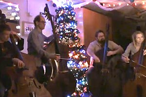 Gothenburg Bass Quartet: O, Tannenbaum