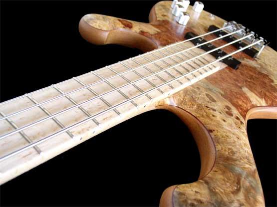 CB Basses D-Bass Fretboard