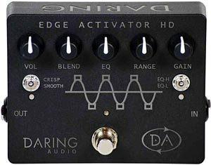 Daring Audio Introduces New HD Bass Pedal