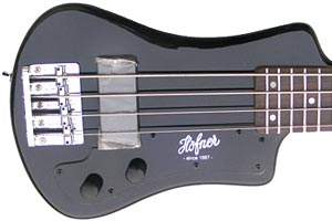 Höfner Reissues Updated Shorty Bass