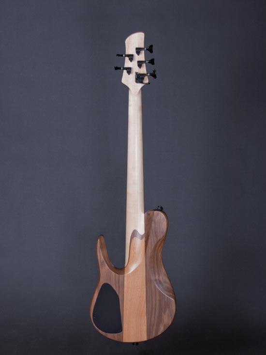Fodera Matt Garrison Standard Bass - full view back