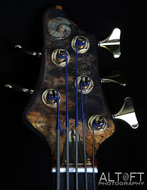 Grant Bass headstock