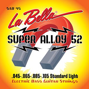 La Bella Expands Super Alloy 52 Strings Line to Bass