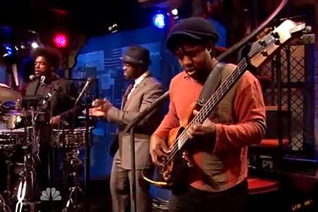 Victor Wooten and The Roots: Live Jam