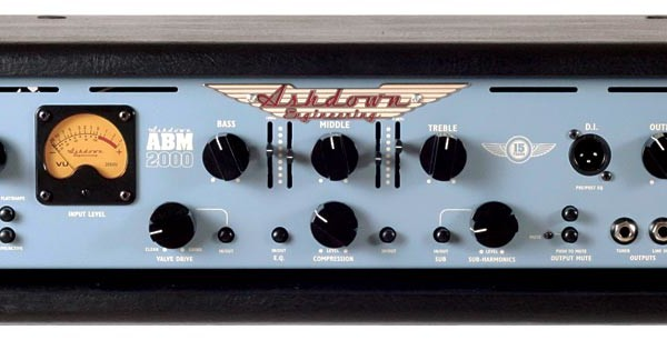 Ashdown Unveils ABM-1000 and ABM-2000 Amps at NAMM