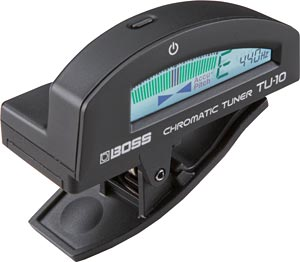 BOSS Introduces TU-10 Clip-on Tuner