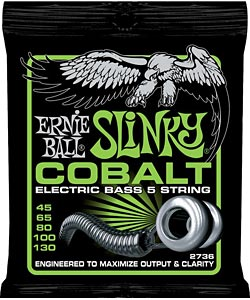Ernie Ball Introduces Cobalt Slinky Bass Strings