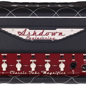 Ashdown Introduces Classic Tube Magnifier All Tube Bass Amp