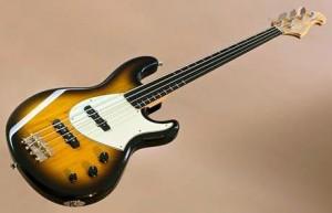 Ruokangas Guitars Steambass Fretless Bass