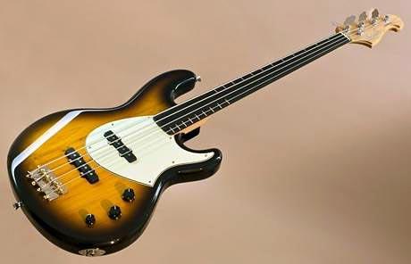 Ruokangas Guitars Introduce Fretless Steambass