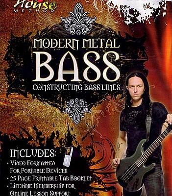 """Disturbed Bassist John Moyer Releases """"Modern Metal Bass"""" Instructional DVD"""