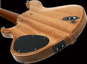 Basone 6-String Bass Guitar - back